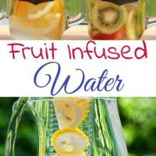 3 Fruit Infused Water Recipes