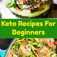 Keto Recipes For Beginners