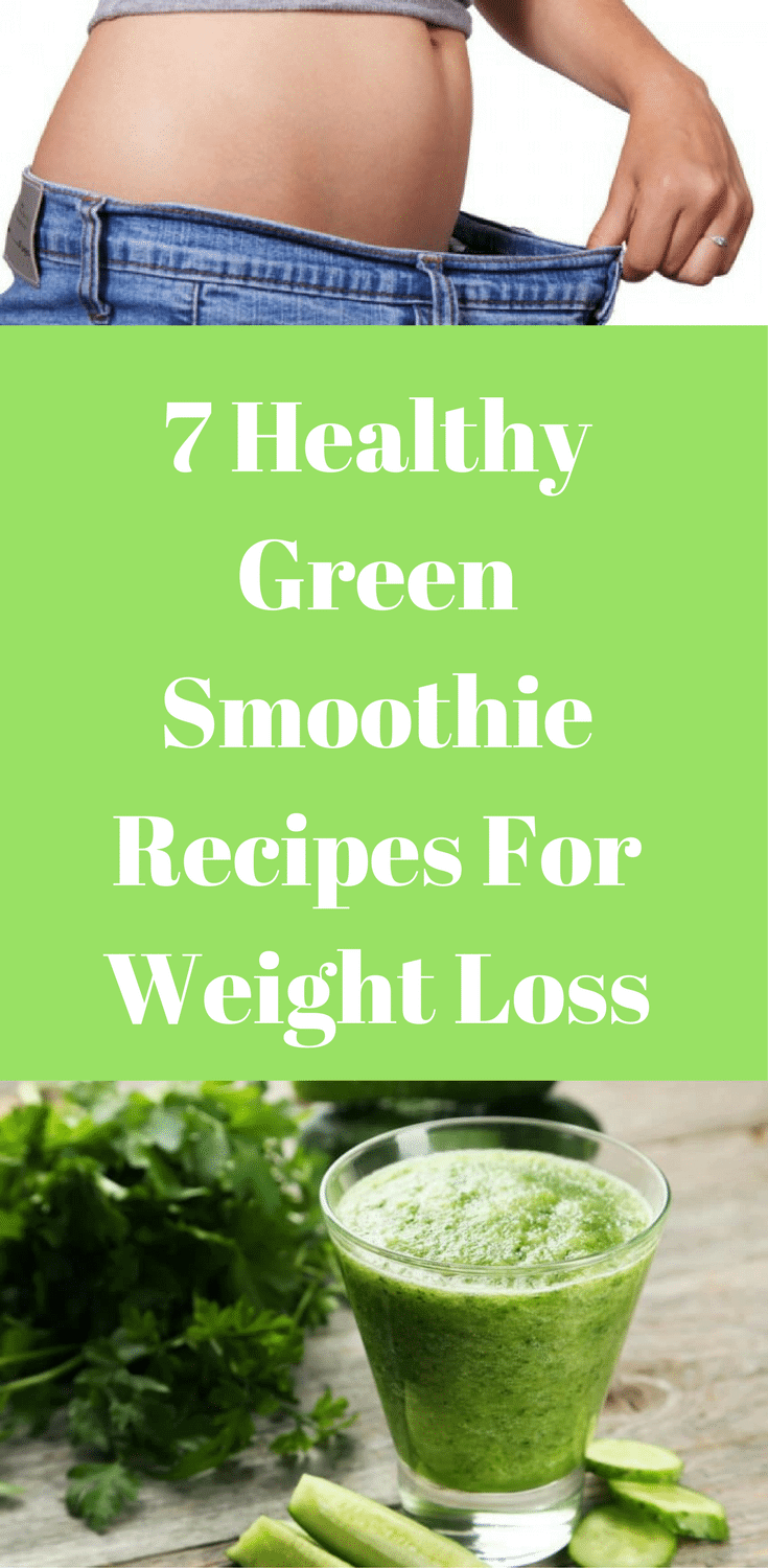 healthy green smoothie recipes for weight loss