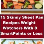 skinny sheet pan recipes weight watchers with 8 smartpoints