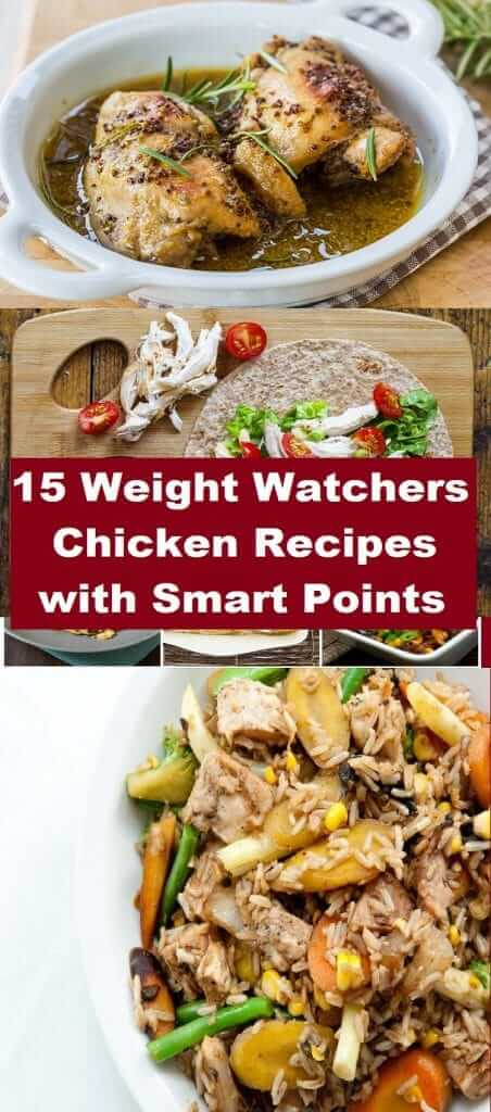 weight watchers chicken recipes