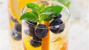 Blueberry orange vitamin bomb