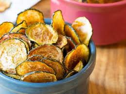 Home Baked Zucchini chips