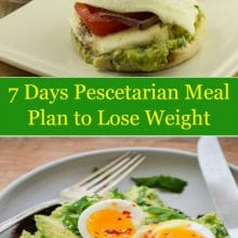 7 Days Pescetarian Meal Plan to Lose Weight