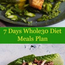 7 Days Whole30 Diet Meals Plan