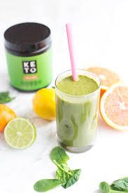 Citrus Keto Green Smoothie